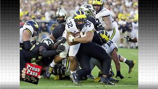 Michigan has more controversy over who will be their starting Quaterback - Video