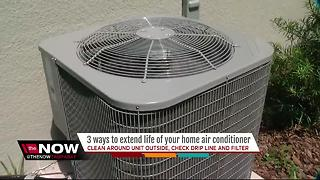 Three ways to extend the life of your A/C unit - Video