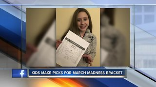Kids Make Picks for March Madness Bracket