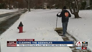 City: shoveling sidewalks is 'neighborly' - Video