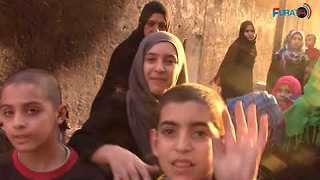 Families Leave Raqqa as US-Backed Forces Claim Victory Over Islamic State - Video