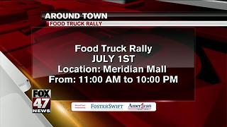 Around Town 6/30/2017: Food Truck Rally - Video