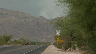 Burro Fire: Residents evacuating on Mount Lemmon - Video