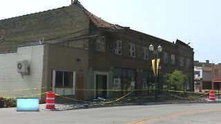 Menasha fire impact historic downtown building
