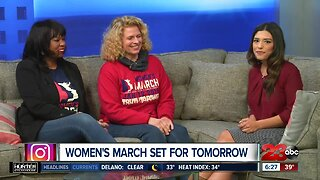 Women's March set for Saturday in Bakersfield