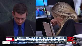 Jonathan Hearn and Sabrina Limon scheduled to be sentenced today - Video