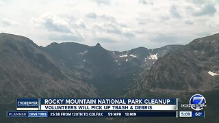 Rocky Mountain National Park cleanup