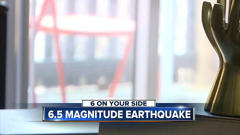 6 On Your Side reporter Madeline White catches Idaho's earthquake on camera