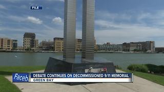 Back and forth continues about decommissioned 9/11 memorial - Video
