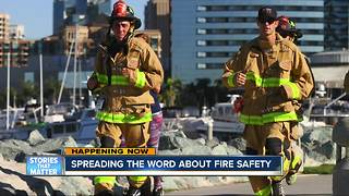 San Diego Fire-Rescue Department starts Fire Prevention Week with fundraiser for new equipment - Video