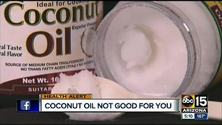 Health benefits of coconut oil debunked - Video