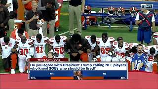Metro Detroit veterans, civil rights leaders react to NFL kneeling controversy - Video