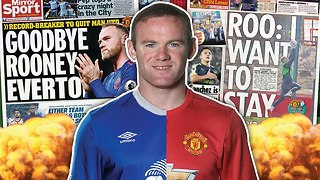 Wayne Rooney To Leave Manchester United This Summer?! - Video
