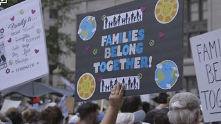 Protesters March For More Than Solving Family Separations - Video