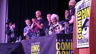 Trekkie delight: Nichelle Nichols at Comic-Con - Video