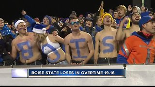 Boise State suffers loss on snow-white Blue Turf, Fresno State wins 19-16