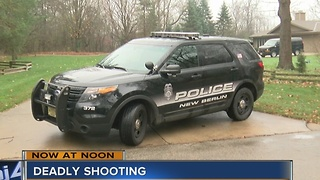 2 dead in early morning New Berlin shooting - Video
