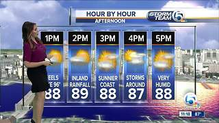 South Florida Tuesday afternoon forecast (7/3/18)