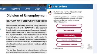 New Maryland unemployment claims will be paid this week