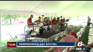 Independence day social in downtown indy - Video