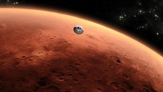 For Future Astronauts, It's A Good Thing Mars Gets This Close - Video