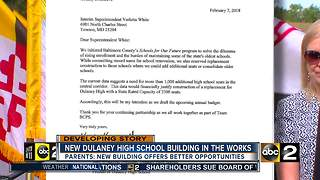 A new Dulaney High School in the works, parents weigh in - Video
