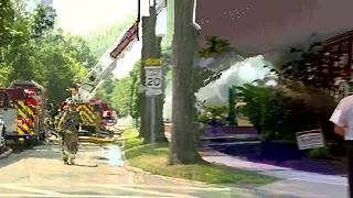 Firefighters respond to fire at Fernway Elementary in Shaker Heights - Video