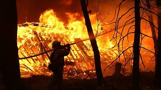 Fire Crews Making Progress On California Wildfires - Video