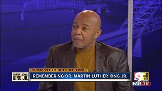 Lincoln Ware discusses Dr. Martin Luther King Jr. - Video