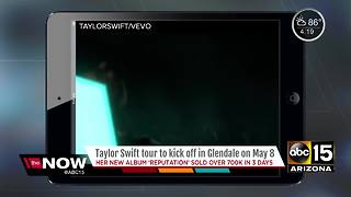 Taylor Swift to kickoff new tour in Glendale - Video