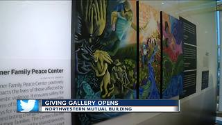 The Giving Gallery opens in Northwestern Mutual Building - Video