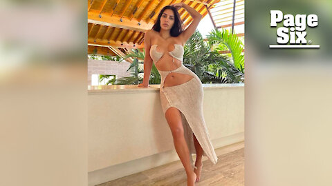 Kim Kardashian's barely-there dress is 'not for you to understand'