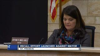 St. Francis mayor facing ouster over reconditioning plant - Video