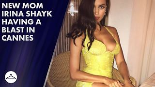 Irina Shayk makes 1st post-baby red carpet comeback - Video