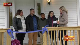 A Deserving Family Gets a New Home - Video