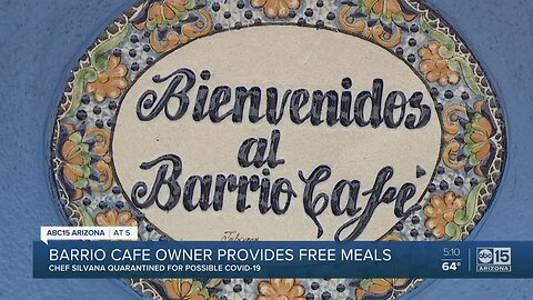 Barrio Cafe owner in quarantine still working to help community