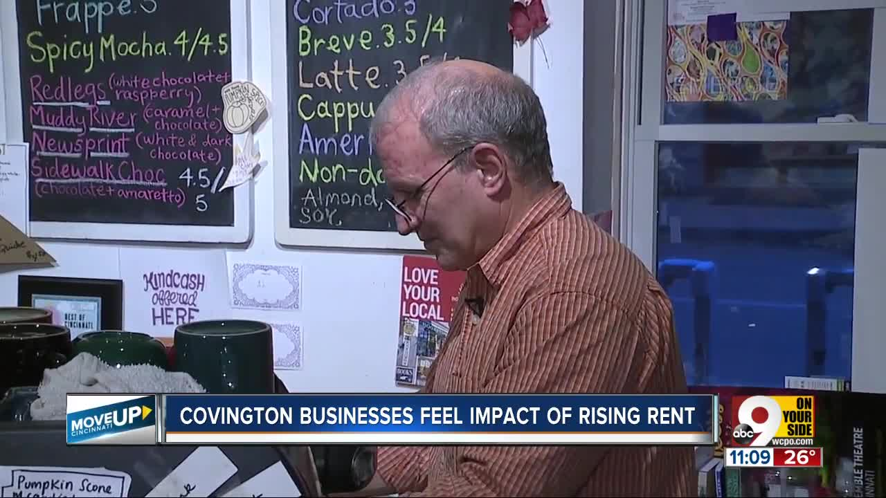 Can small businesses afford to stay in the Covington they created?