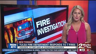 Authorities searching for person of interest after series of suspicious fires - Video