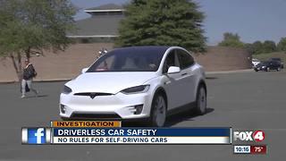 Driverless car safety - Video