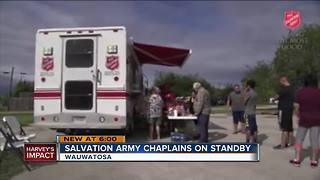 Local Salvation Army chaplains heading to Texas amid floods - Video