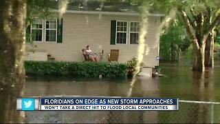 Tropical depression 16 has some Floridians on edge - Video