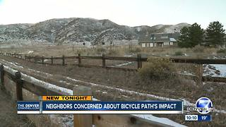 Residents worry construction on new trail will threaten eagle habitat - Video