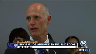 Biggest job announcement since 2009 - Video