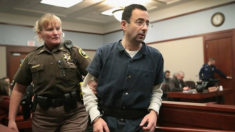 Nassar Accuses Judge Of Turning Sentencing Into A 'Media Circus'