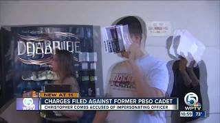 Charges filed agains former PBSO cadet - Video