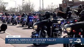 Officer Eric Talley remembered for deep, lasting impacts in the community
