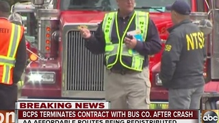 Baltimore City Schools terminated contract with AA Affordable Transportation - Video