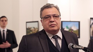 Russian Ambassador to Turkey Assassinated in Ankara - Video