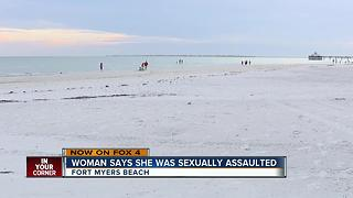 Woman says she was raped on Fort Myers Beach