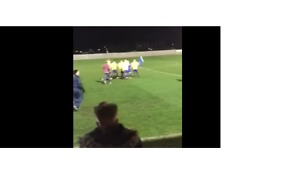 Football Referee Attacked by Spectators at Local Scarborough Cup Final - Video